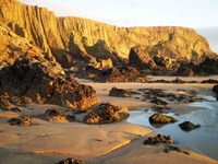 self guided walking holiday cornwall coastal path south west England